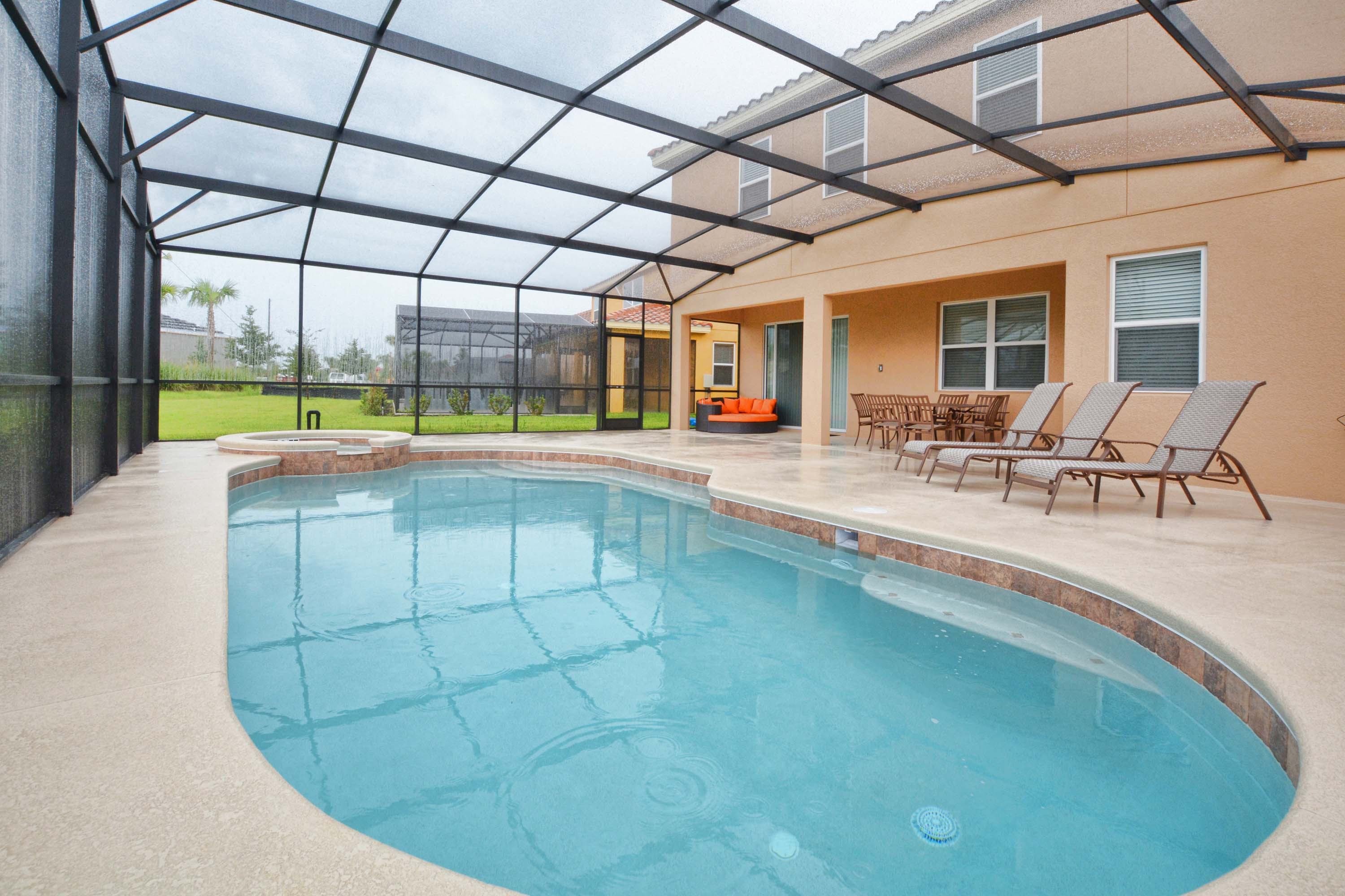 Vacation homes for rent in davenport fl solterra resort for Florida pool homes